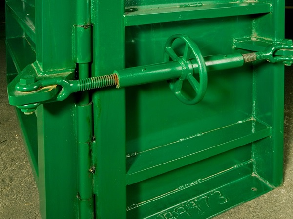 Wastequip Baler Close Up